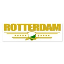 Rotterdam (Flag 10) pocket Bumper Sticker