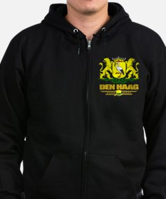 The Hague (Flag 10) Zip Hoodie (dark)