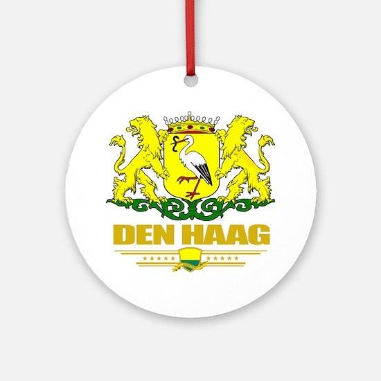 The Hague (Flag 10) Round Ornament
