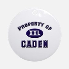 Property of caden Ornament (Round)