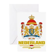 Netherlands COA (Flag 10) Greeting Card
