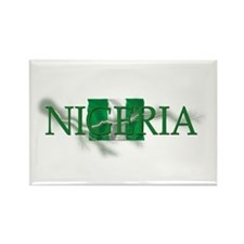 NIGERIA Rectangle Magnet