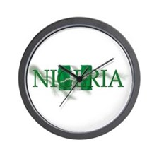 NIGERIA Wall Clock