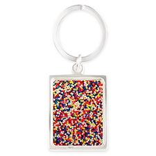 candy-sprinkles_ff Portrait Keychain