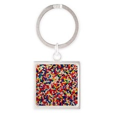 candy-sprinkles_ff Square Keychain