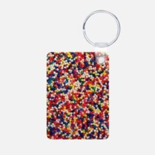 candy-sprinkles_ff Aluminum Photo Keychain
