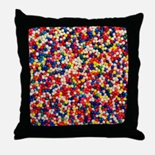 candy-sprinkles_ff Throw Pillow