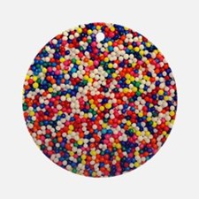 candy-sprinkles_ff Round Ornament