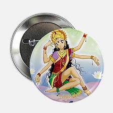 """Mother Lakshmi 2.25"""" Button"""