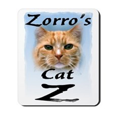 zorroscattrans Mousepad