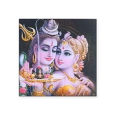 "ShivaShakti Square Sticker 3"" x 3"""