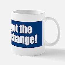 Hey - I got the wrong change. Mug