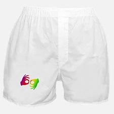InterpreterDark Boxer Shorts