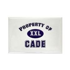 Property of cade Rectangle Magnet