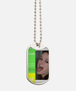 blow me ass-hat Dog Tags