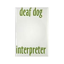 InterpreterWasabi Rectangle Magnet