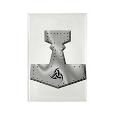Steel Hammer Rectangle Magnet