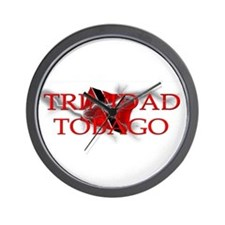 TRINIDAD and TOBAGO Wall Clock