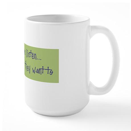 DeafListenBumper Large Mug