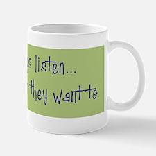 DeafListenBumper Mug