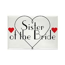 sisterofthebride Rectangle Magnet