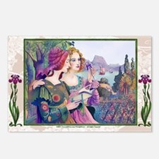 Laptop-Vint-ArtNouvArtist Postcards (Package of 8)