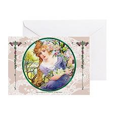 Laptop-Vint-ArtNouvArtistry no.1 Gas Greeting Card