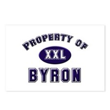 Property of byron Postcards (Package of 8)
