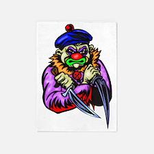 evil_clowns_002 5'x7'Area Rug