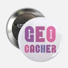 "Geocacher Arrows Pinks 2.25"" Button"