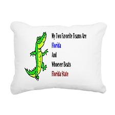 Florida seminoles62x52 Rectangular Canvas Pillow