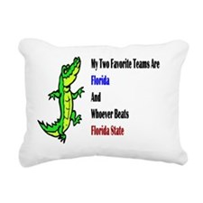 Florida seminoles Rectangular Canvas Pillow