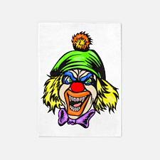 evil_clowns_004 5'x7'Area Rug