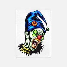 evil_clowns_037 5'x7'Area Rug