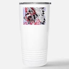 lone wolf Travel Mug