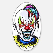 evil_clowns_007 Sticker (Oval)