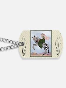 Laptop-ArtDecoMarty-Zebra Dog Tags