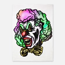 evil_clowns_079 5'x7'Area Rug