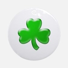 Shamrock ver4 Ornament (Round)