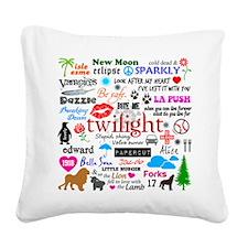 Twi Mem iPad2 Square Canvas Pillow