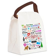 Twi Mem iPad2 Canvas Lunch Bag