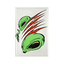 aliens_ufo_024 Rectangle Magnet