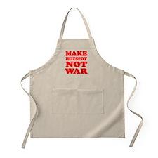 Make Hutspot Not War Apron
