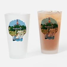 MARBLEHEAD-Massachusetts Drinking Glass
