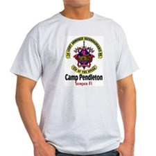 camp pendletion Ash Grey T-Shirt