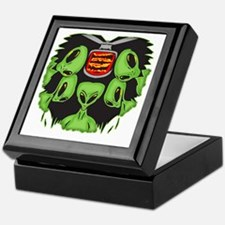 aliens_ufo_089 Keepsake Box