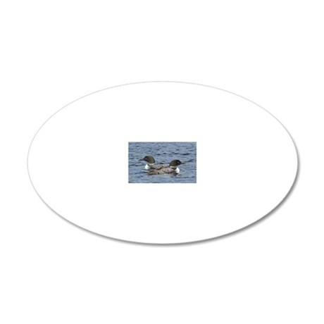 2x3_magnet 2 20x12 Oval Wall Decal