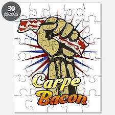 Carpe Bacon-blk Puzzle
