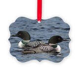 Loon Picture Frame Ornaments