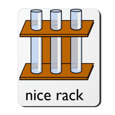 nice rack big Mousepad